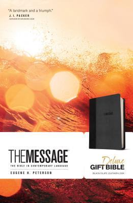 The Message Deluxe Gift Bible: The Bible in Contemporary Language Cover Image