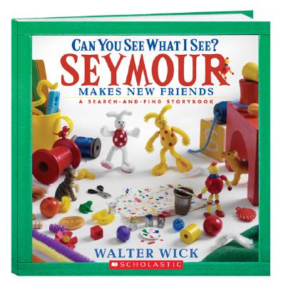 Seymour Makes New Friends: A Search-And-Find Storybook Cover Image