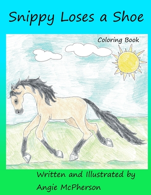 Snippy Loses a Shoe: Coloring Book Cover Image