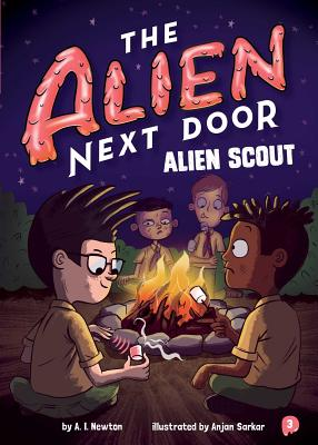 The Alien Next Door 3: Alien Scout Cover Image