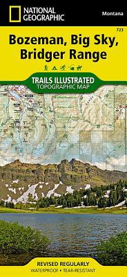 Bozeman, Big Sky, Bridger Range (National Geographic Trails Illustrated Map #723) Cover Image