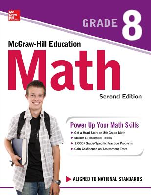 McGraw-Hill Education Math Grade 8, Second Edition Cover Image