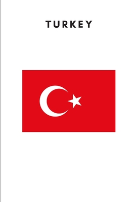 Turkey: Country Flag A5 Notebook to write in with 120 pages Cover Image
