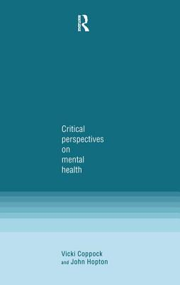 Critical Perspectives on Mental Health Cover Image