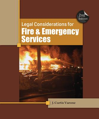 Legal Considerations for Fire and Emergency Services Cover Image