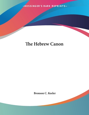 The Hebrew Canon Cover Image