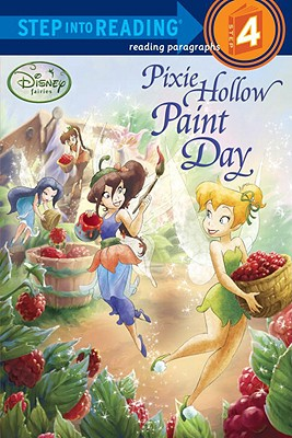 Pixie Hollow Paint Day (Disney Fairies) Cover