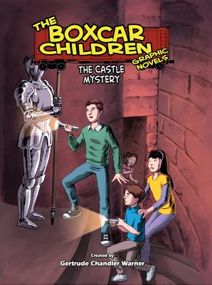 The Castle Mystery (The Boxcar Children Graphic Novels #12) Cover Image