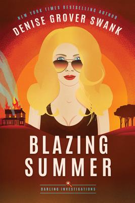 Blazing Summer (Darling Investigations #2) Cover Image