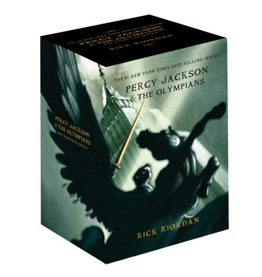 Percy Jackson Pbk 5-Book Boxed Set Cover
