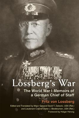 Cover for Lossberg's War