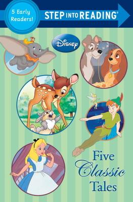 Five Classic Tales (Disney Classics) (Step into Reading) cover