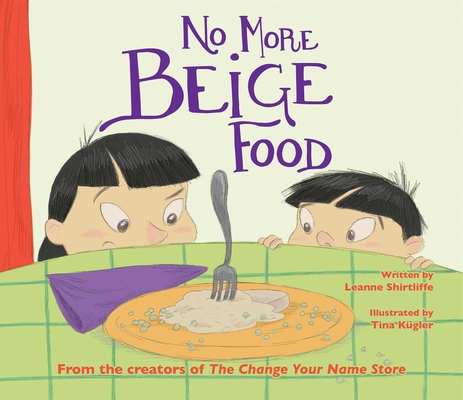 No More Beige Food Cover