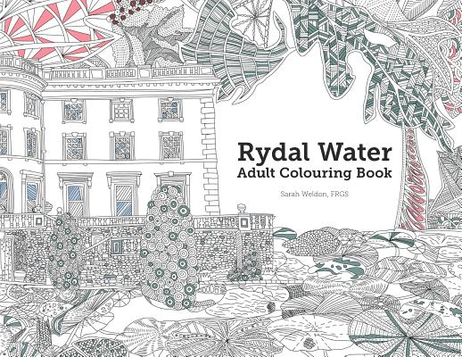 Rydal Water Adult Colouring Book: A Colourful Exploration of Britain (Augmented Reality Colouring Books of Great Britain #1) Cover Image