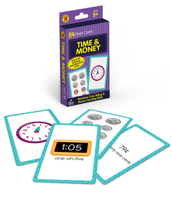 Time and Money Flash Cards (Brighter Child Flash Cards) Cover Image