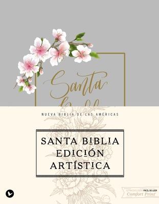 Biblia Nbla, Edición Artística, Tapa Dura/Tela, Canto Con Diseño, Edición Letra Roja / Spanish Artisan Collection Bible, Nbla, Cloth Over Board Cover Image