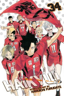 Haikyu!!, Vol. 34: Cats' Claws Cover Image
