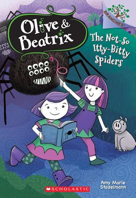 Cover for The Not-So Itty-Bitty Spiders