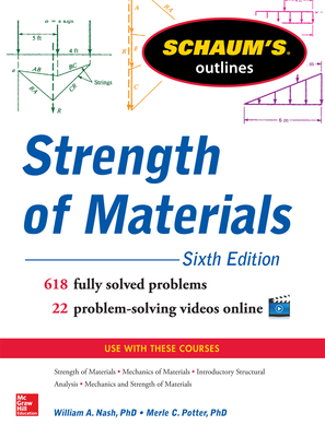 Schaum's Outline of Strength of Materials (Schaum's Outlines) Cover Image