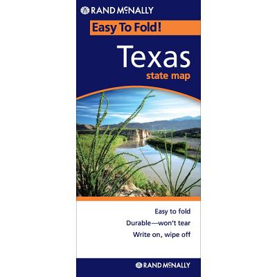 Easy Finder Map Texas Cover Image