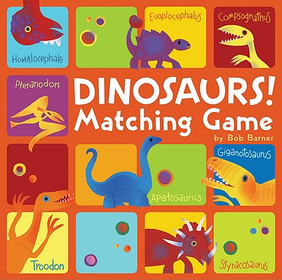 Dinosaurs! Matching Game Cover Image