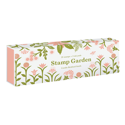 Stamp Garden: (25 stamps, 2 ink colors, assorted plant and flower parts, perfect for scrapbooking, printmaking, diy crafts, and journals) Cover Image