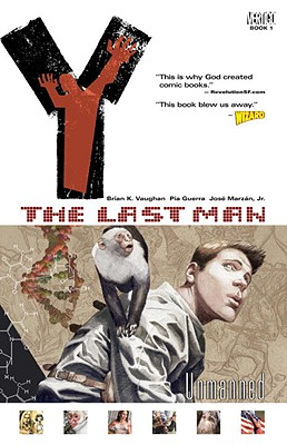 Y: The Last Man VOL 01: Unmanned cover image