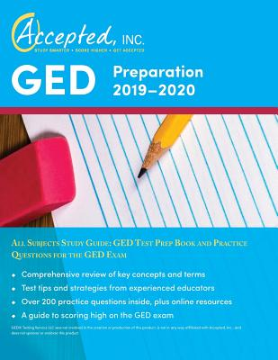 GED Preparation 2019-2020 All Subjects Study Guide: GED Test Prep Book and Practice Questions for the GED Exam Cover Image