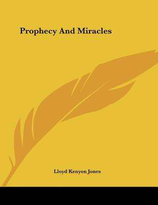 Prophecy And Miracles Cover Image
