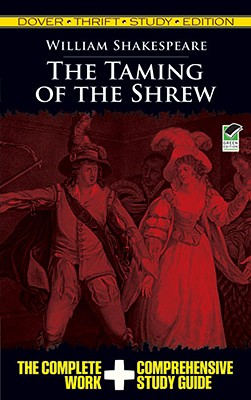 The Taming of the Shrew (Dover Thrift Study Edition) Cover Image