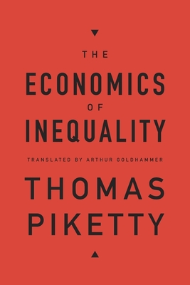 The Economics of Inequality Cover Image