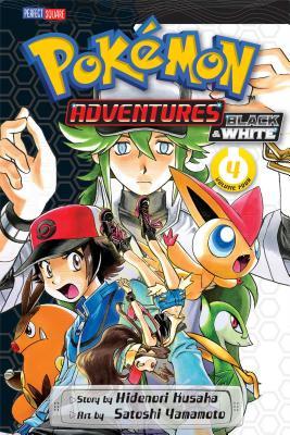 Pokémon Adventures: Black and White, Vol. 4 Cover Image
