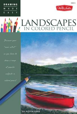 Landscapes in Colored Pencil Cover