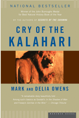 Cry of the Kalahari Cover