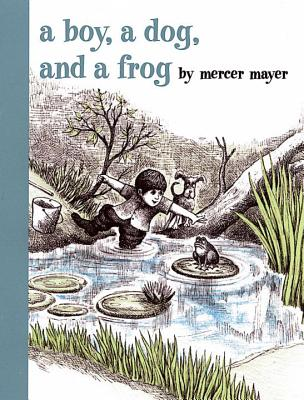 A Boy, a Dog, and a Frog Cover