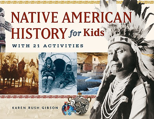 Cover for Native American History for Kids