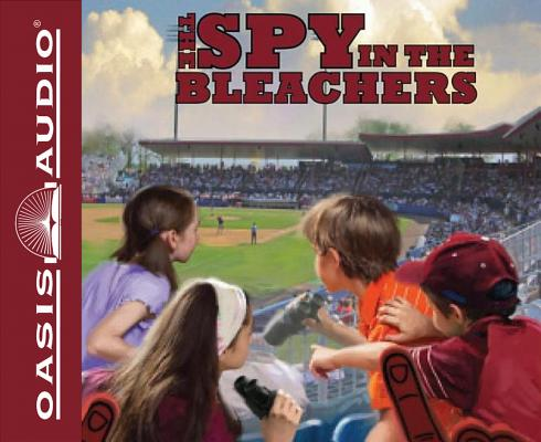 Cover for The Spy in the Bleachers (Library Edition) (The Boxcar Children Mysteries #122)