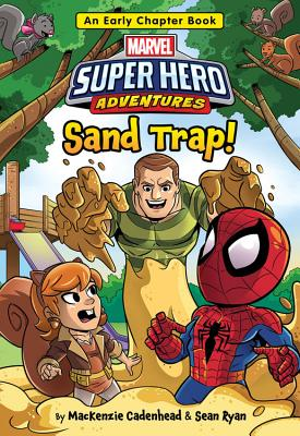 Cover for Marvel Super Hero Adventures Sand Trap!