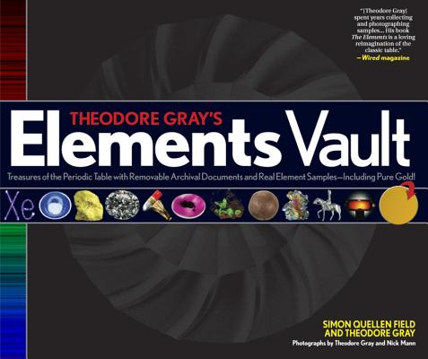 Theodore Gray's Elements Vault Cover