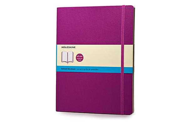 Moleskine Classic Extra Large Dotted Notebook: Orchid Purple Cover Image