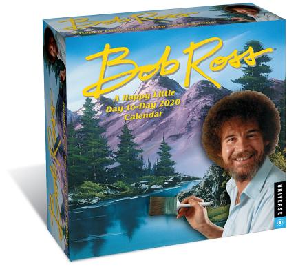 Bob Ross: A Happy Little Day-to-Day 2020 Calendar Cover Image