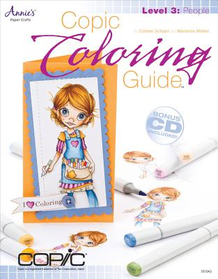 Copic Coloring Guide Level 3: People Cover Image