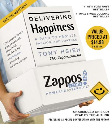 Delivering Happiness Cover