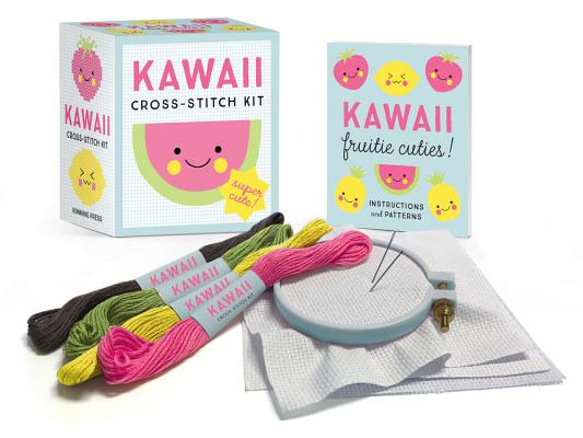 Kawaii Cross-Stitch Kit: Super Cute! (RP Minis) Cover Image