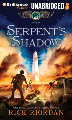 The Serpent's Shadow (Kane Chronicles #3) Cover Image