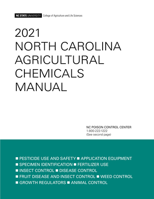 2021 North Carolina Agricultural Chemicals Manual Cover Image