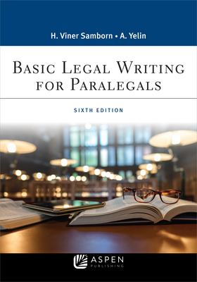 Basic Legal Writing for Paralegals (Aspen Paralegal) Cover Image