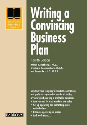 Writing a Convincing Business Plan (Barron's Business Library) Cover Image