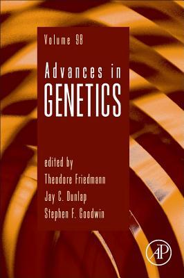 Advances in Genetics, 98 Cover Image