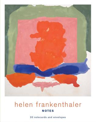 Helen Frankenthaler Notes: 20 Notecards and Envelopes Cover Image